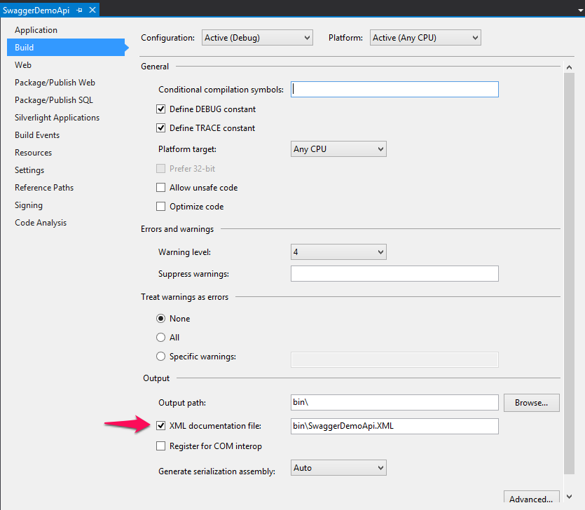 Swagger and ASP NET Web API - Part I: Adding Swagger to Web